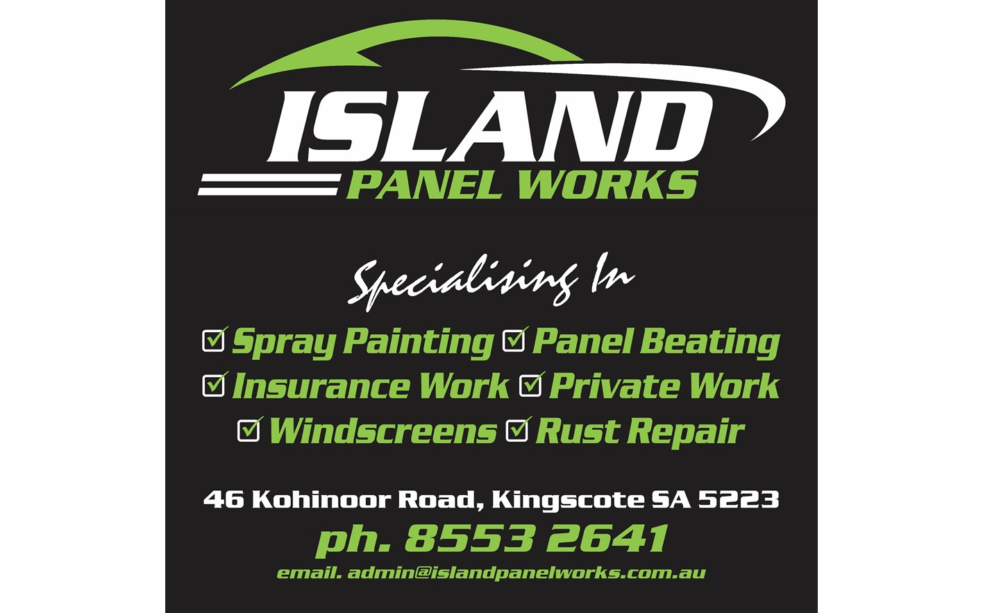 Island Panel Works Pty Ltd
